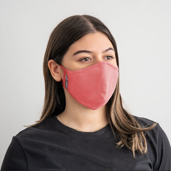 Gharieni face mask with exchangeable nanofilter (version for women) Pink