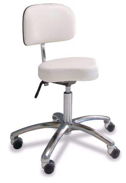 Werkstoel met zadelzit