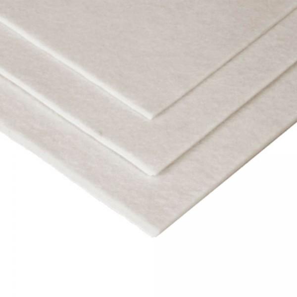 HAPLA vilt wit, 22,5 x 45cm, 2 mm dik