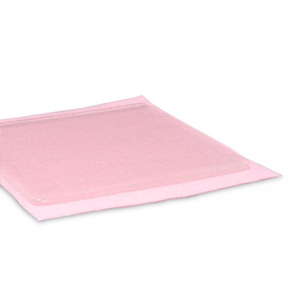 Polymer gelkussen, 10 cm x 10 cm, 2 stuks