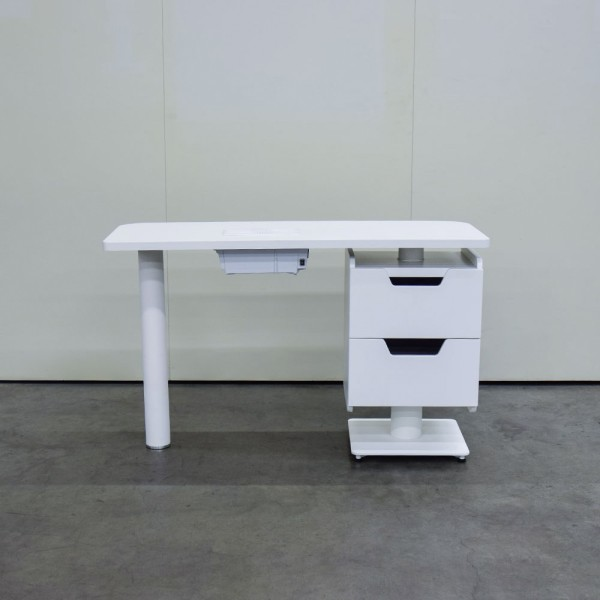 Manikürtisch Cube Select, weiß, mit Absaugung, Ausstellungsstück D52