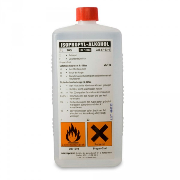 isopropyl alcohol, 70%, 1000 ml