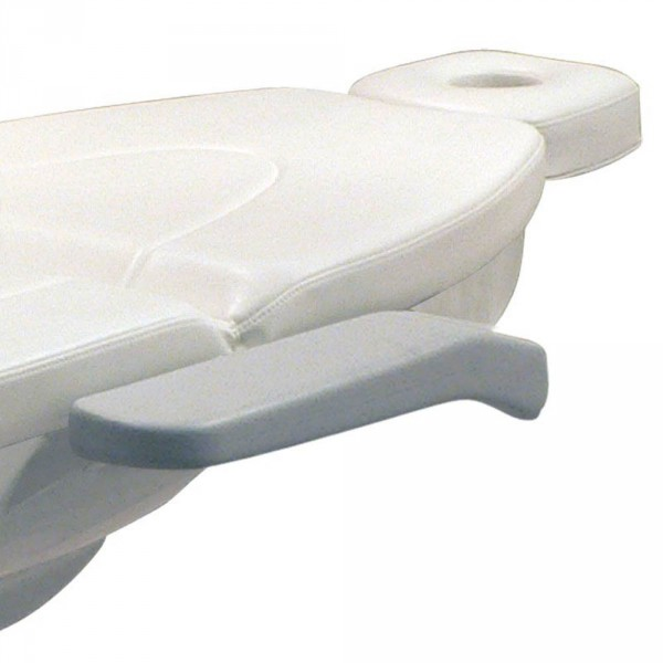 Armleuningenpaar breed voor alle LR-behandelstoelmodellen, 54x12 cm (PU)
