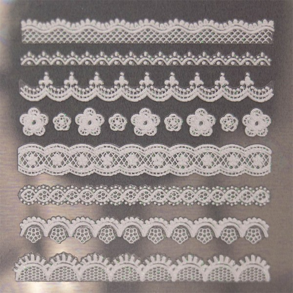 Lace Sticker WW-1