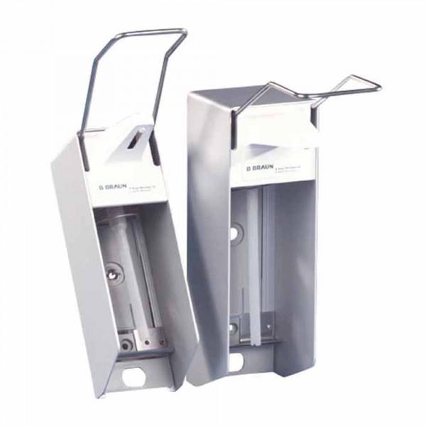 Braun wanddispenser voor 1 liter flessen