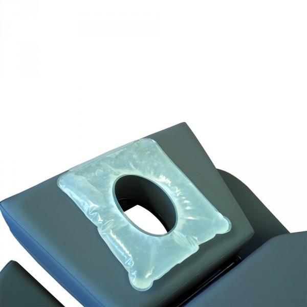 MLW gelkussens voor neusgat, twee knopen, folie & gel, transparant