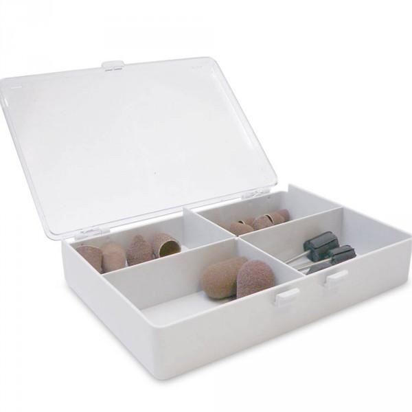 slijpkappenbox, 4-verdeelvakken