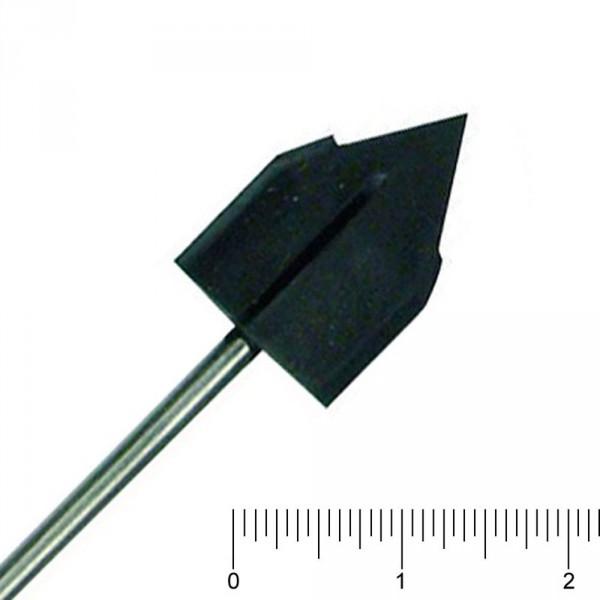 gummidrager Ø 10 mm, spits