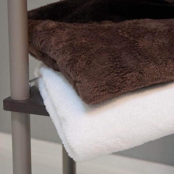 Luxe microvezel deken, wit, 150x200 cm