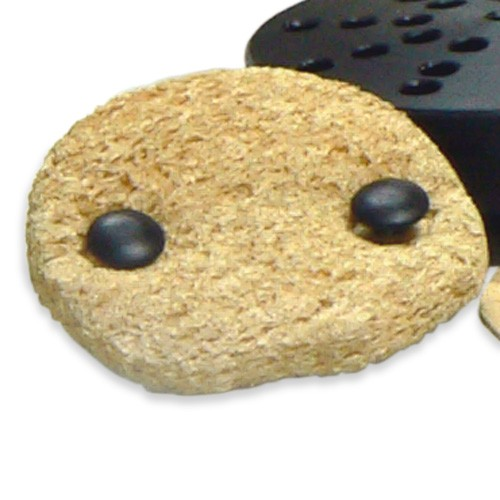 sponshouder incl. 2 sponsjes, 45mm