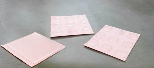Polymer gel drukkussen, 9 stuks