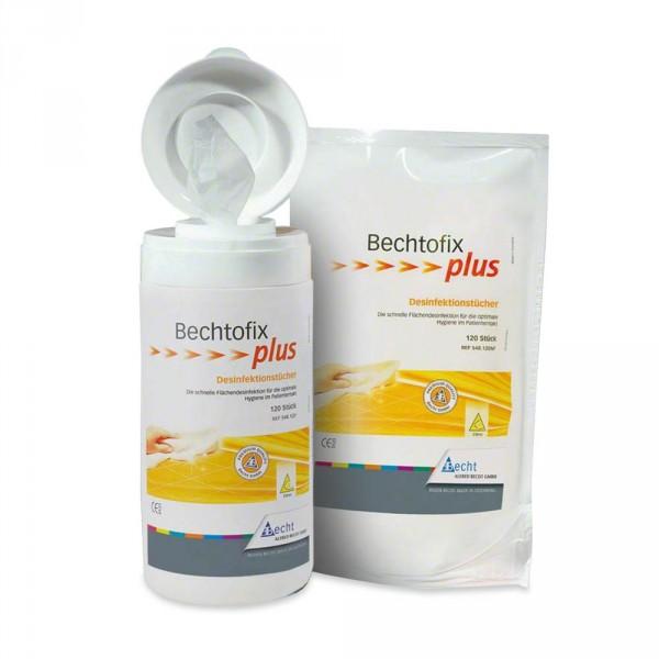 Bechtofix plus, 100 desinfectiedoekjes + dispenser