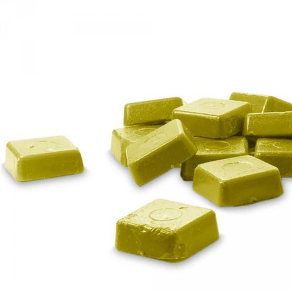 harsblokjes, gold, ca. 1000 g
