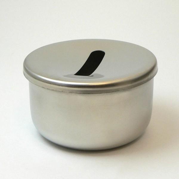 reiningingshouder voor freesjes met zeef, roestvrijstaal