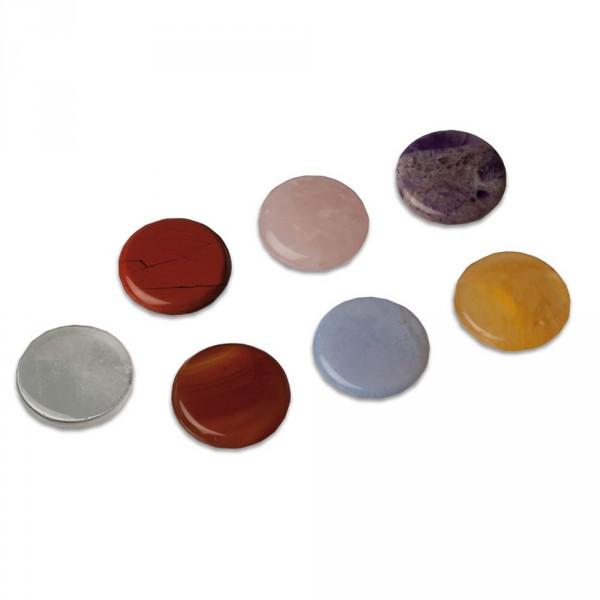Set chakra-stenen, 7-delig