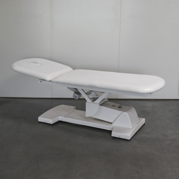 Massagebank MLL2 in Weiß, Ausstellungsstück 205