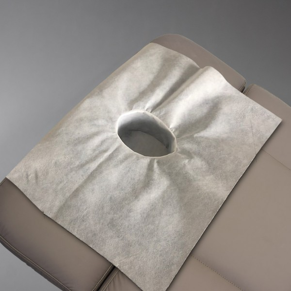 10x Hygiënische beschermhoes voor hoofddeel wellness/massagebanken, wasbaar 90°