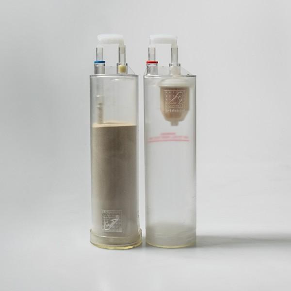 1 paar navulling met cristal voor microdermabrasie