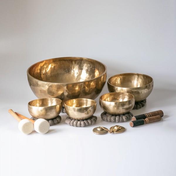 klankschaal-Set Vibra Healing